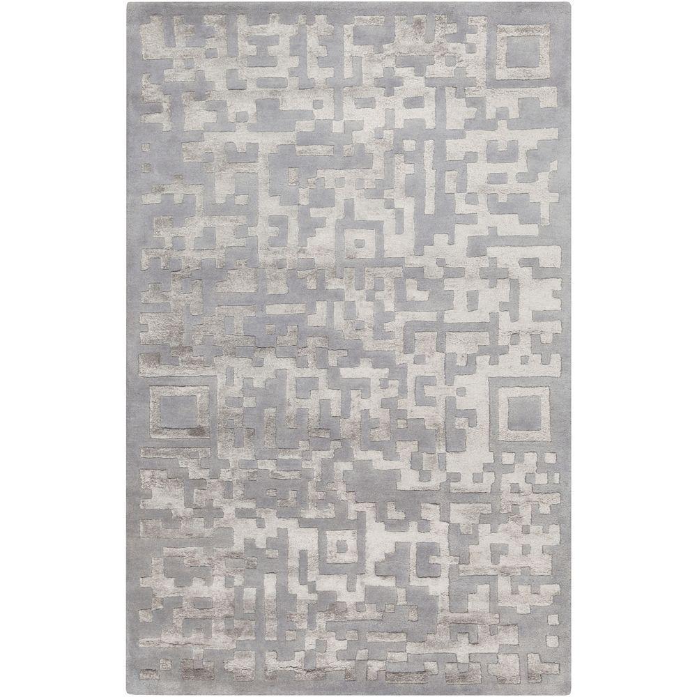 Novaci Light Gray 3 ft. 3 in. x 5 ft. 3