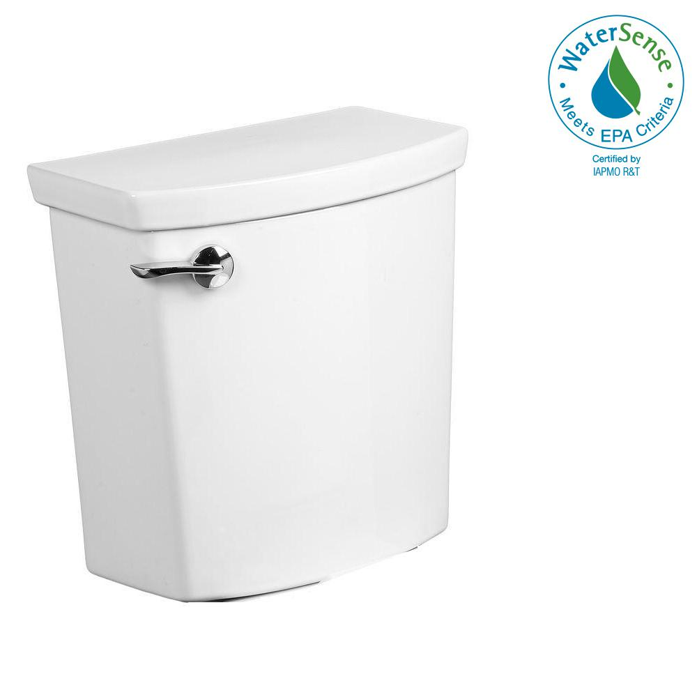 H2Optimum 1.1 GPF Single Flush Toilet Tank Only in White