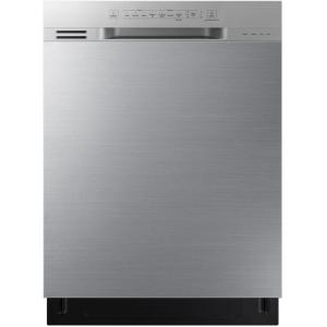 24 in. Stainless Steel Front Control Dishwasher with 3rd Rack and 51 dBA