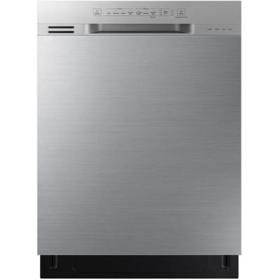 Samsung 24 in. Front Control Dishwasher in Stainless Steel with Stainless Interior Door and 3rd Rack, 51 dBA