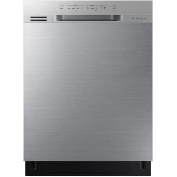 Samsung DW80N3030US - Dishwasher - built-in - Niche - width: 24 in - depth: 24 in - height: 34.1 in - stainless steel