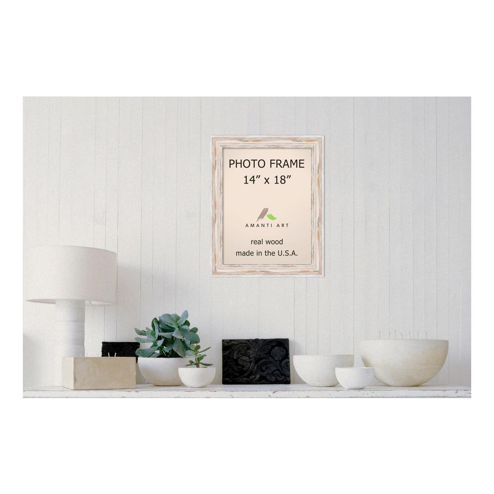 Timeless Frames Brenna 1-Opening 18 in. x 24 in. White Picture Frame ...