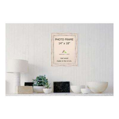 Alexandria 14 in. x 18 in. Whitewash Picture Frame