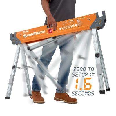 Speed Horse Sawhorse with Auto Release Legs (1-Pair)