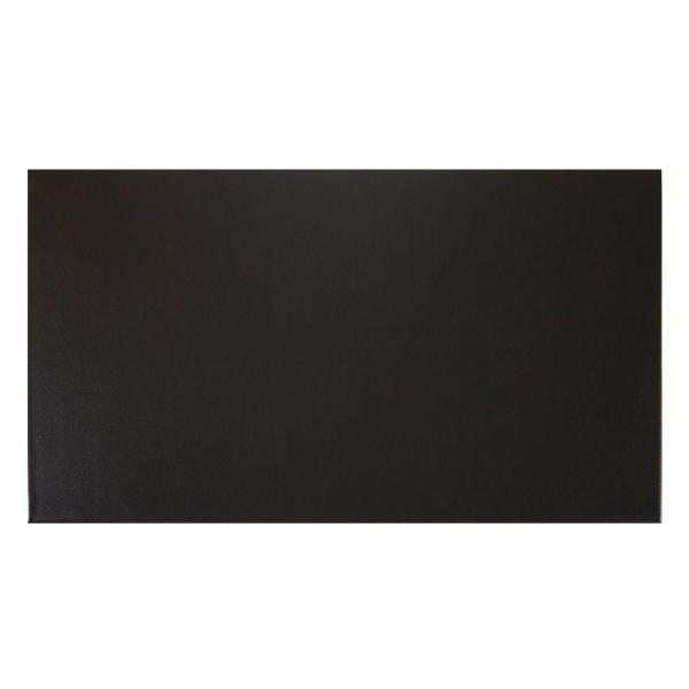 Black 48 in. x 96 in. Vinyl Garage Mat