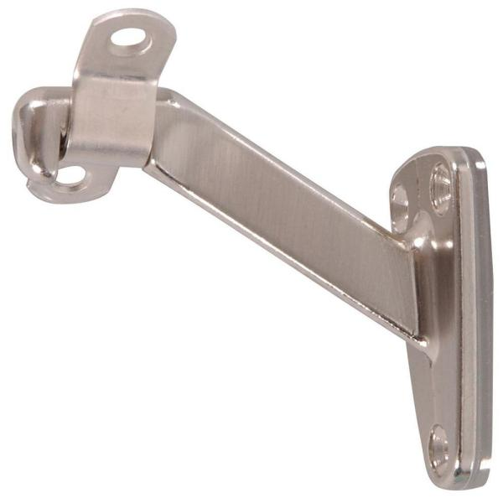 Handrail Bracket Heavy Duty Satin Stainless Steel Pack of 5