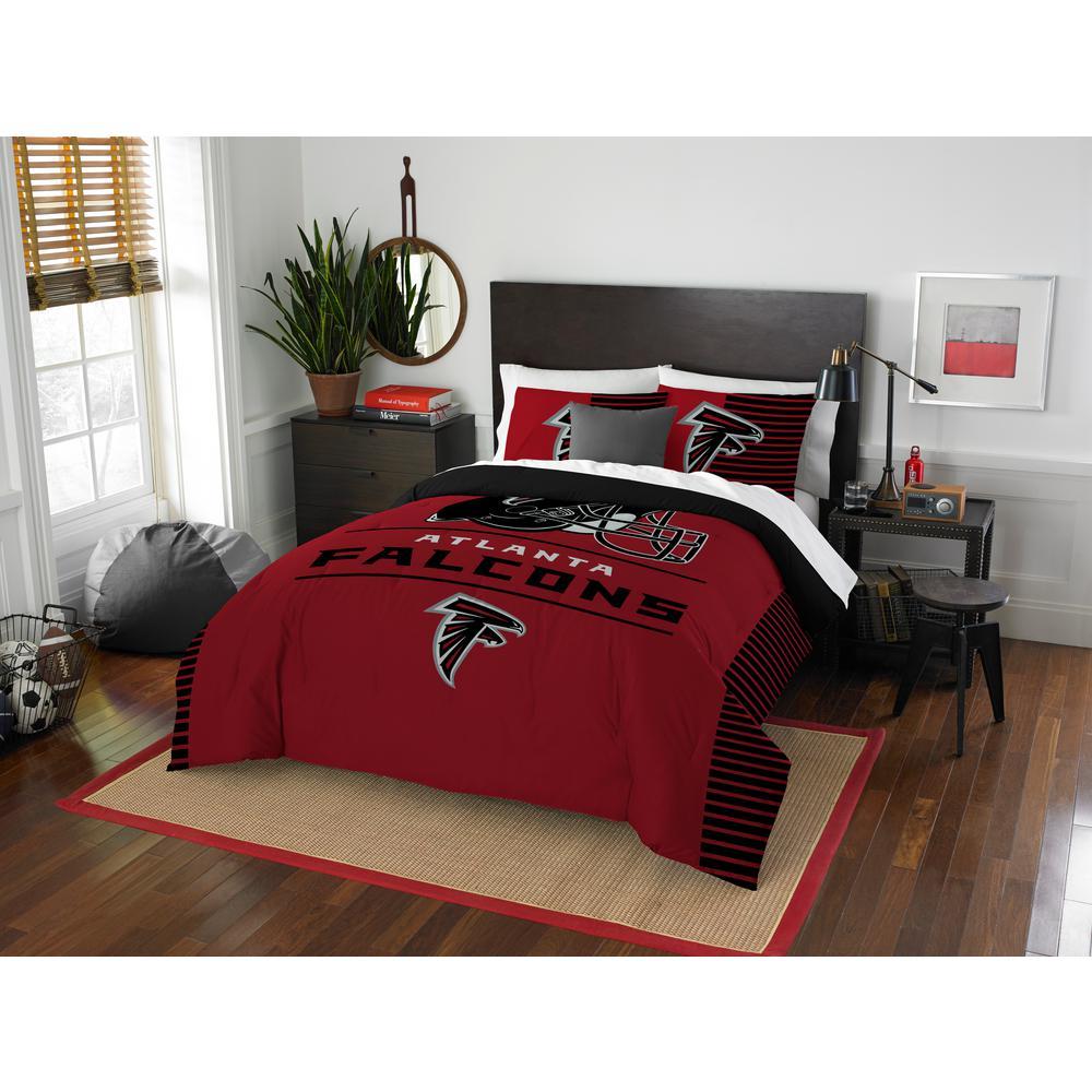 9043b165 Falcons 3-Piece Draft Multi Full/Queen Comforter Set
