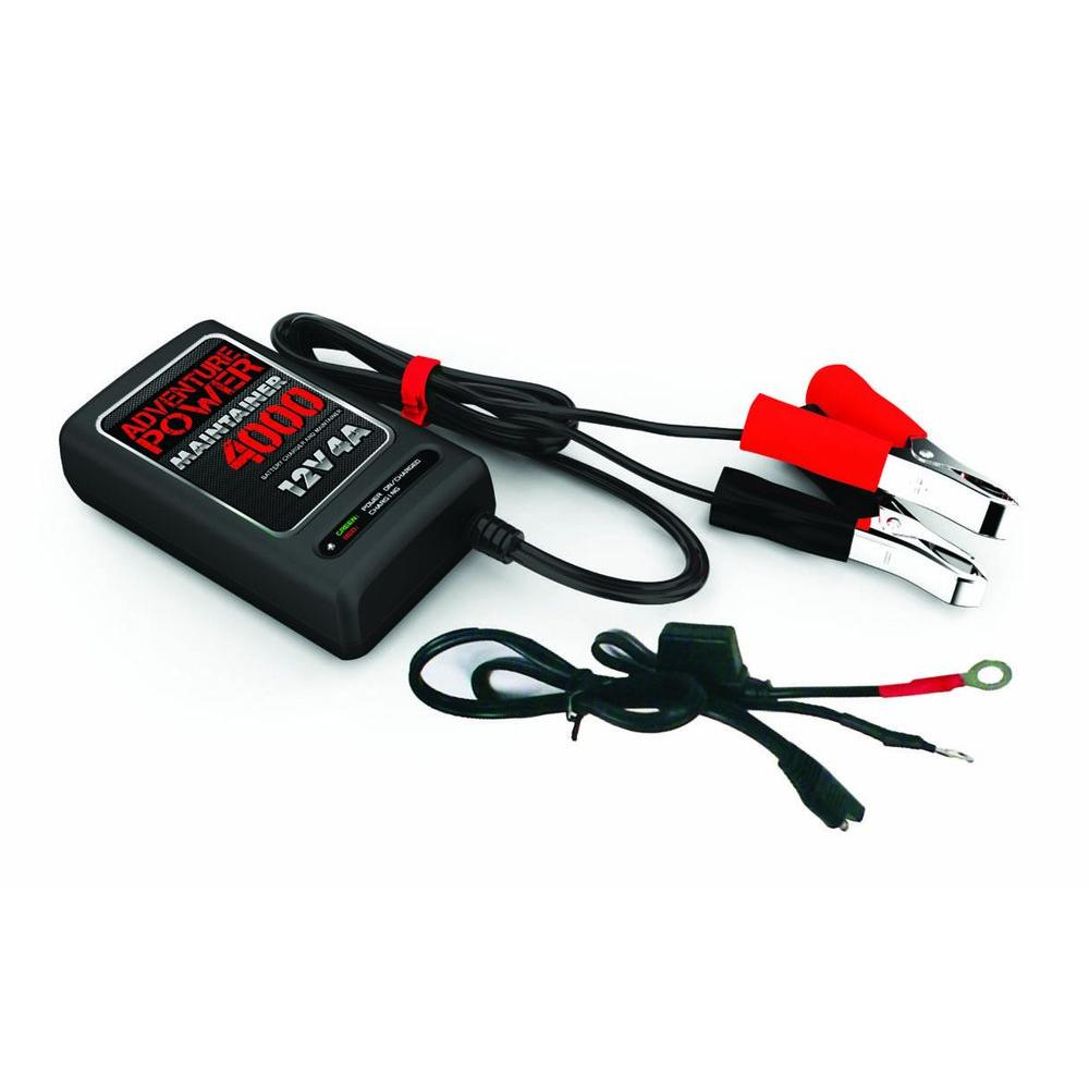 Adventure Power 12 Volt 4 A Charger 84038 The Home Depot