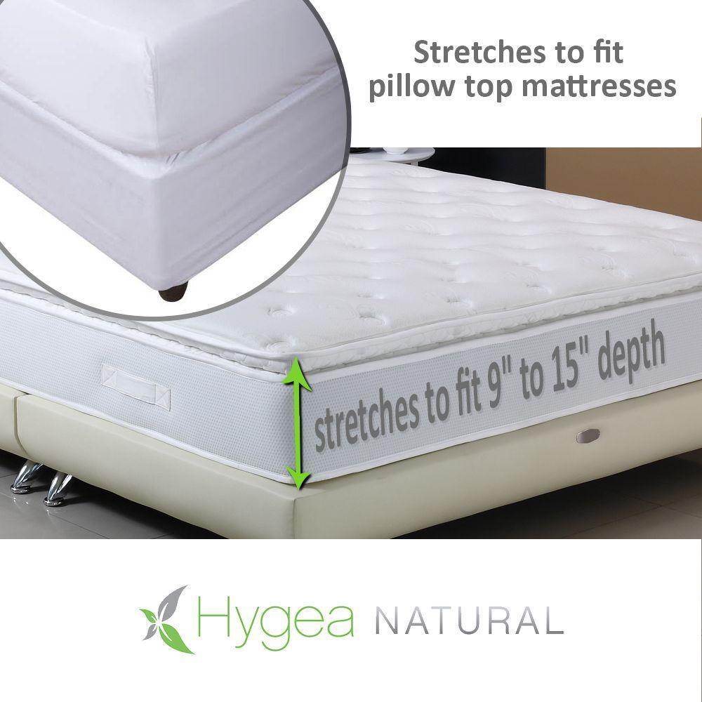 Hygea Natural Hygea Natural Bed Bug Mattress Cover or Box ...