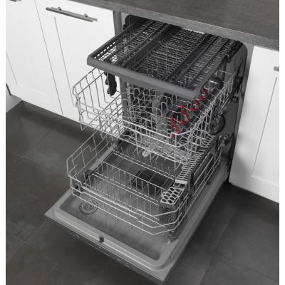 Profile Top Control Tall Tub Dishwasher in Black Slate with Stainless Steel Tub and Steam Cleaning,  45 dBA