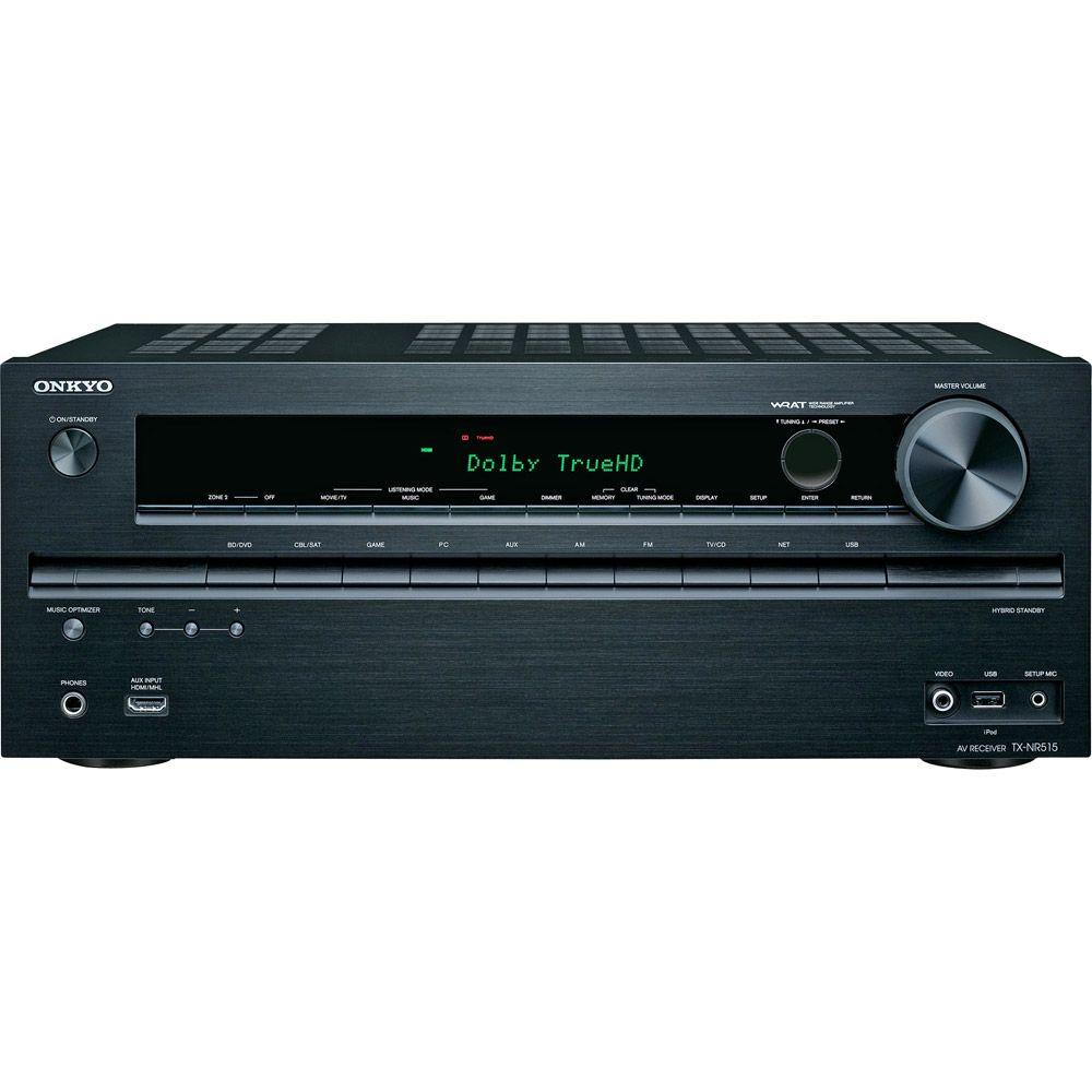 Onkyo 7.2-Channel 3D-Ready Network AV Receiver-DISCONTINUED