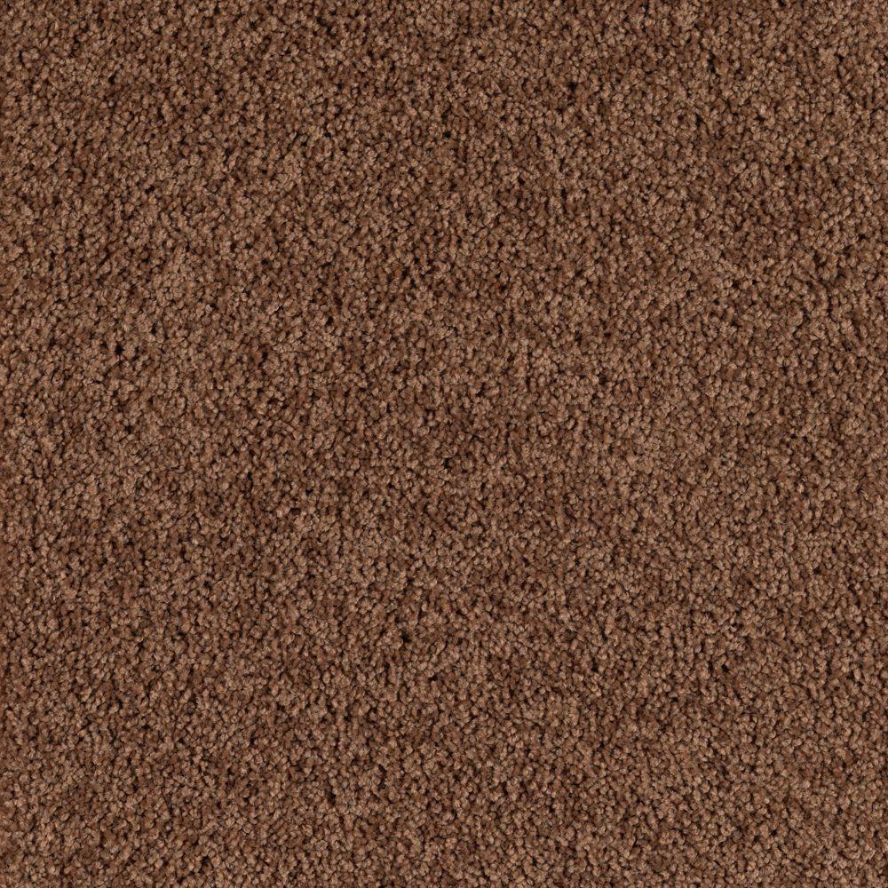 Platinum Plus Command Perf III - Color Glazed Pecan 12 ft. Carpet