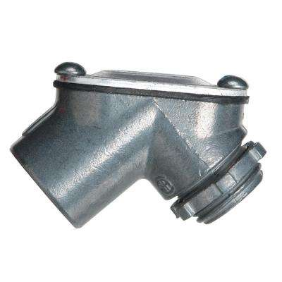1/2 in. Zinc Rigid to Box Pull Elbow (10-Pack)