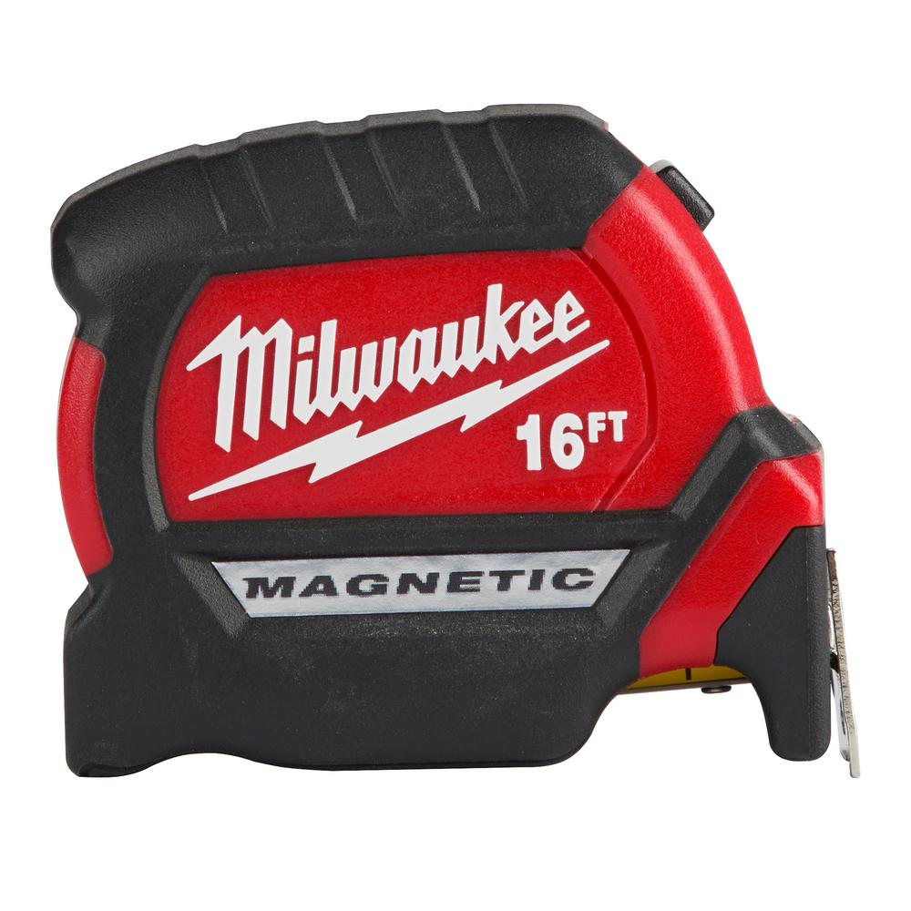 Milwaukee 16 ft. Premium Magnetic Tape Measure