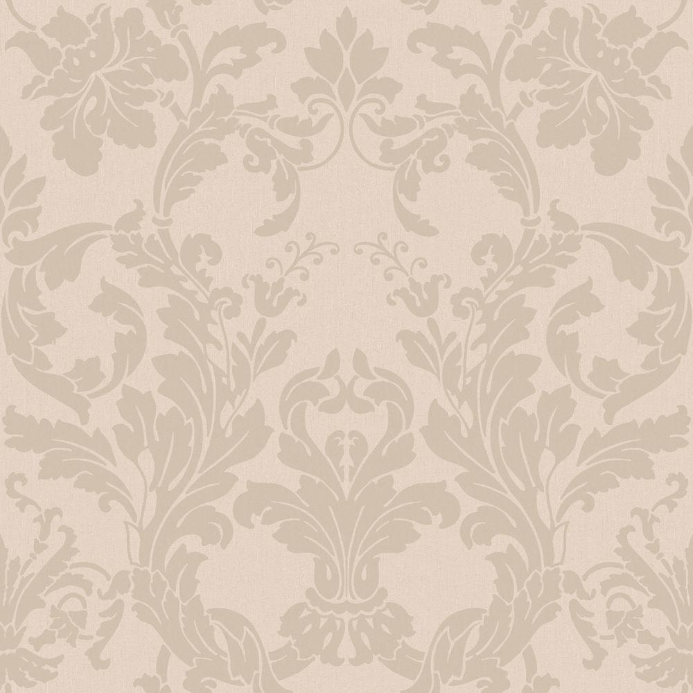 Acanthus Light Mauve Wallpaper