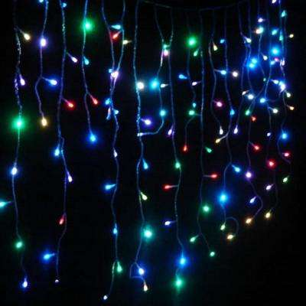 10 ft. 105-Light LED Multicolor String Lights