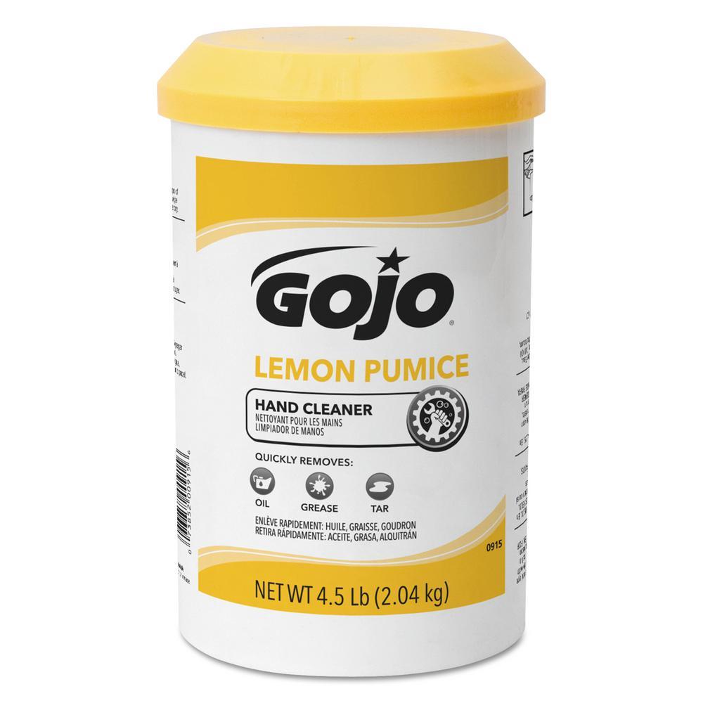 4.5 lbs. Lemon Scent Lemon Pumice Hand Soap Tub