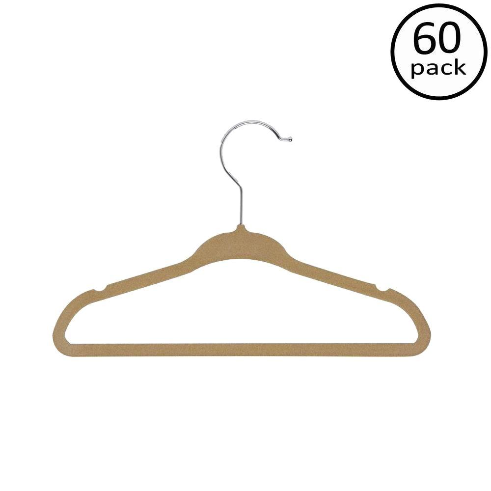 Honey-Can-Do Kids Velvet Touch Suit Hangers (60-Pack)