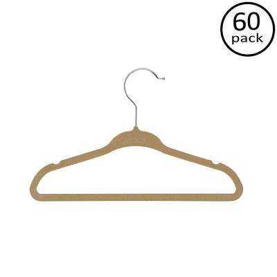 Kids Velvet Touch Suit Hangers (60-Pack)