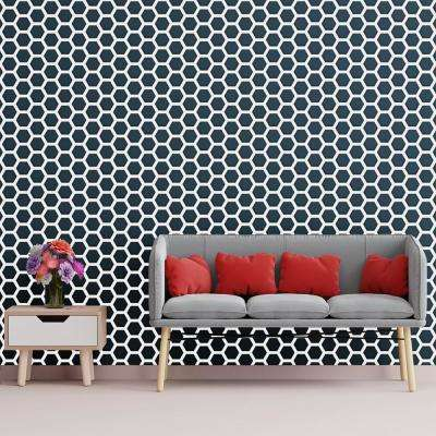 3/8 in. x 13-5/8 in. x 15-3/4 in. Medium Westmore White Architectural Grade PVC Decorative Wall Panels