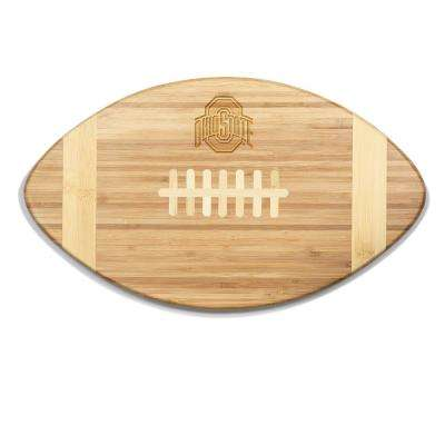 Ohio State Buckeyes Touchdown Bamboo Cutting Board