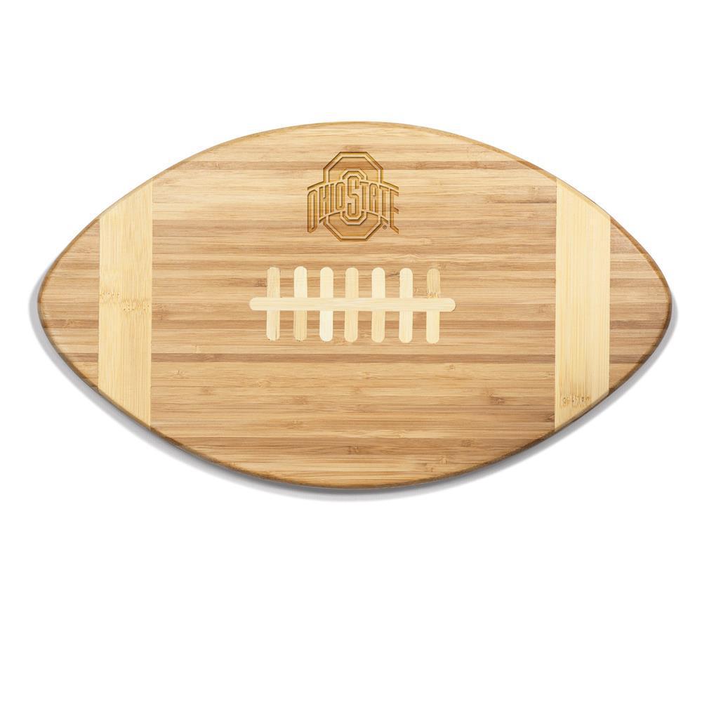 Ohio State Buckeyes Touchdown Bamboo Cutting Board