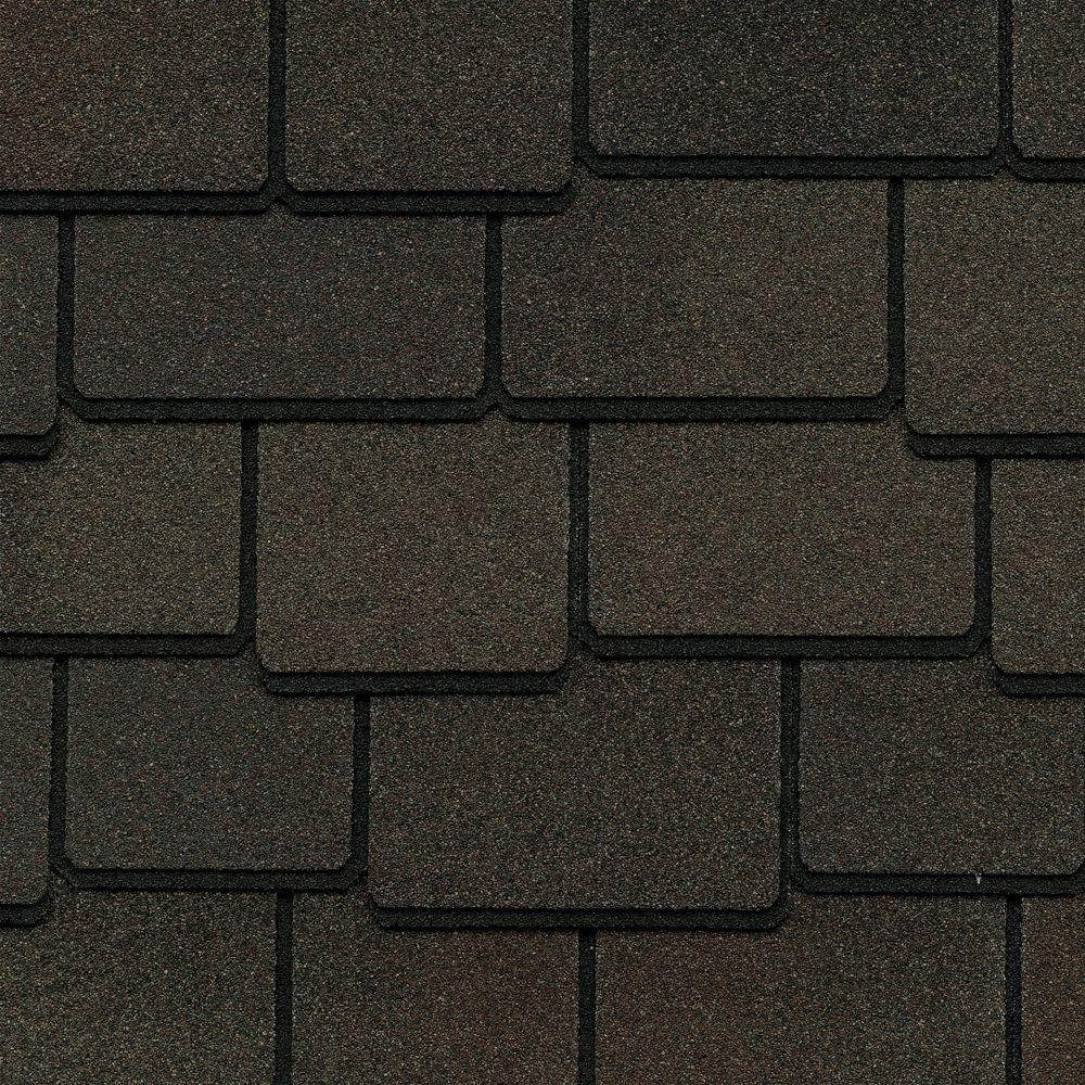 GAF Woodland Value Collection Woodberry Brown Architectural Shingles (25 sq. ft. per Bundle)