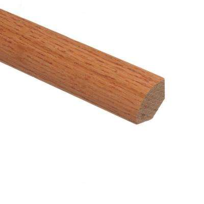 Butterscotch 3/4 in. Thick x 3/4 in. Wide x 94 in. Length Hardwood Quarter Round Molding