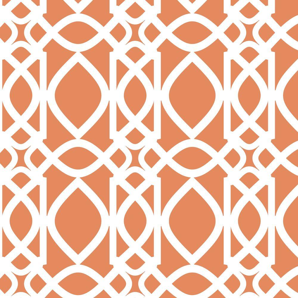 Stencil Ease Chestnut Hill Filigree Wall Painting Stencil   19.5 In. X 19.5  In.
