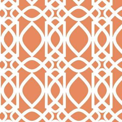 Chestnut Hill Filigree Wall Painting Stencil - 19.5 in. x 19.5 in. Stencil Sheet