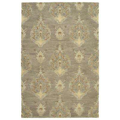 Brooklyn Taupe 8 ft. x 11 ft. Area Rug