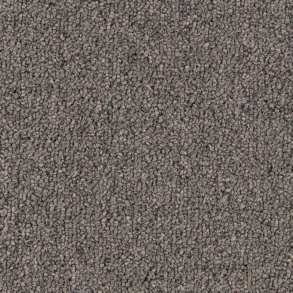 Carpet Sample - Top Rail 26 - Color Brass Loop 8 in. x 8 in.