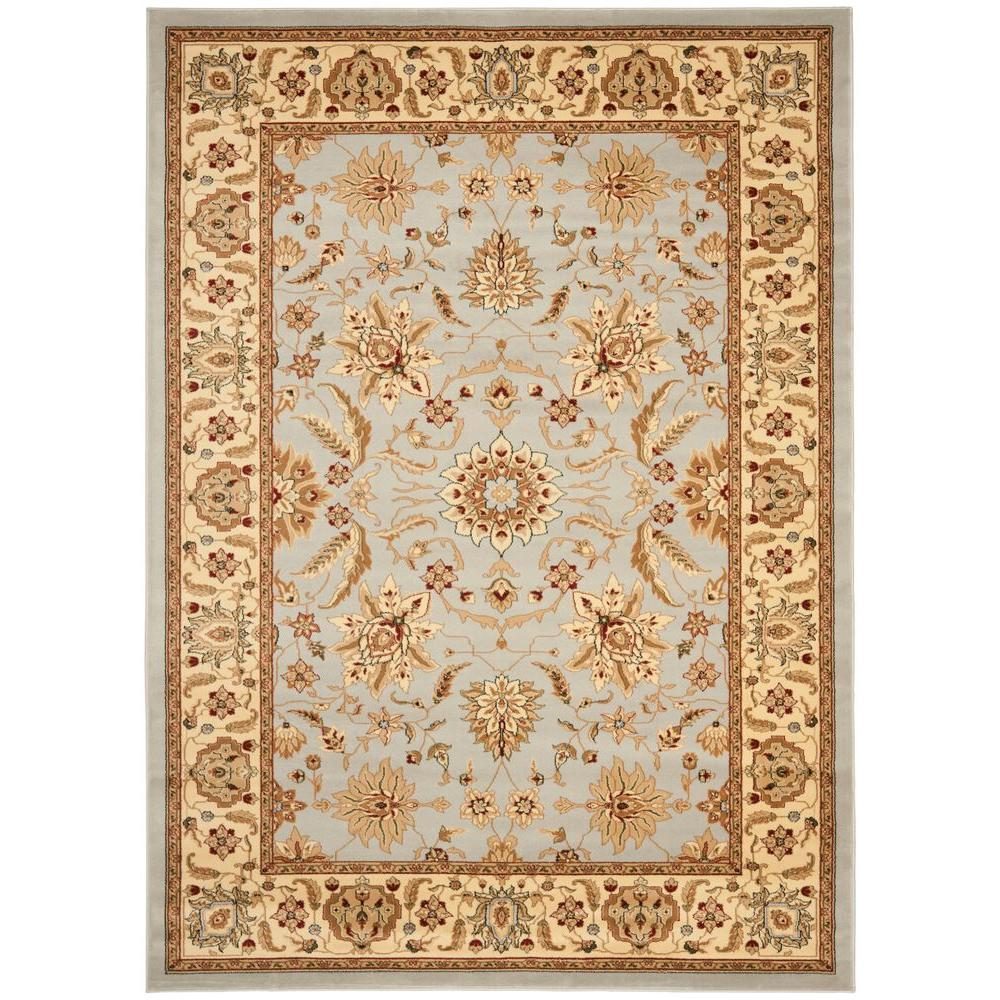 Safavieh lyndhurst gray beige 8 ft 11 in x 12 ft area for Grey and tan rug