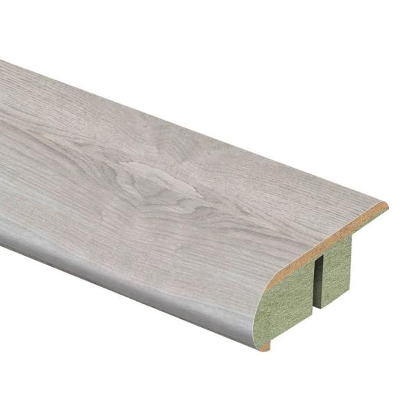 Ventura Gray Oak 3/4 in. Thick x 2-1/8 in. Wide x 94 in. Length Laminate Stair Nose Molding