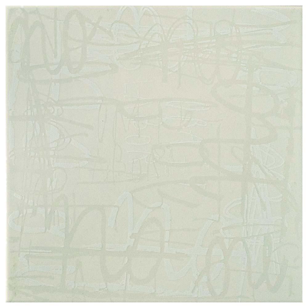 Relax Blanco 7-7/8 in. x 7-7/8 in. Ceramic Wall Tile (11.46