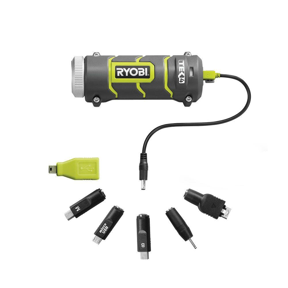 RYOBI Tek4 4-Volt Portable Power Source RP4900-DISCONTINUED