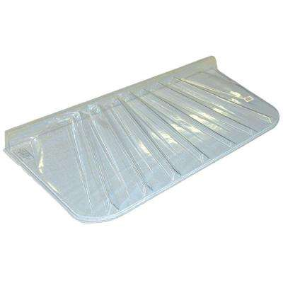 25 in. x 4 in. Polyethylene Rectangular Low Profile Window Well Cover