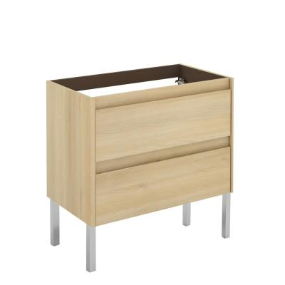 Ambra 31.1 in. W x 17.6 in. D x 32.4 in. H Bath Vanity Cabinet Only in Nordic Oak
