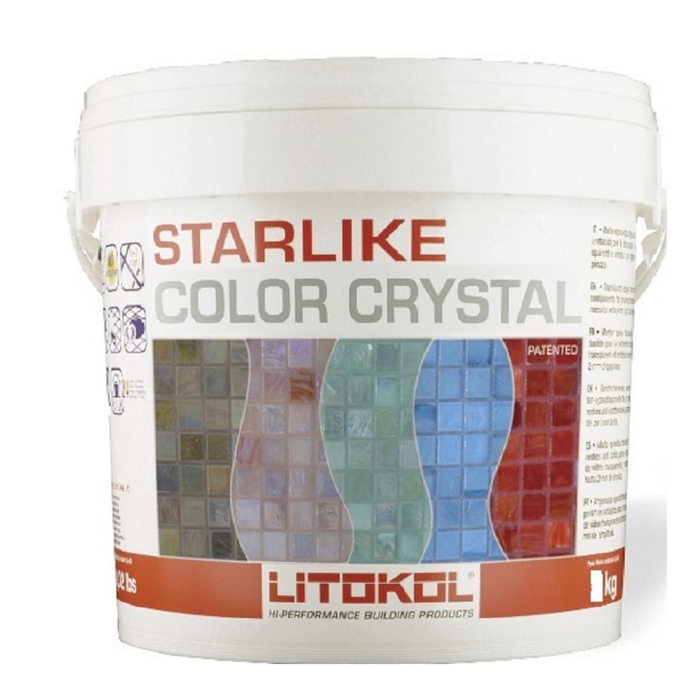 Starlike Color Crystal Glass Azzuro Taormina / Blue 2.5 kg