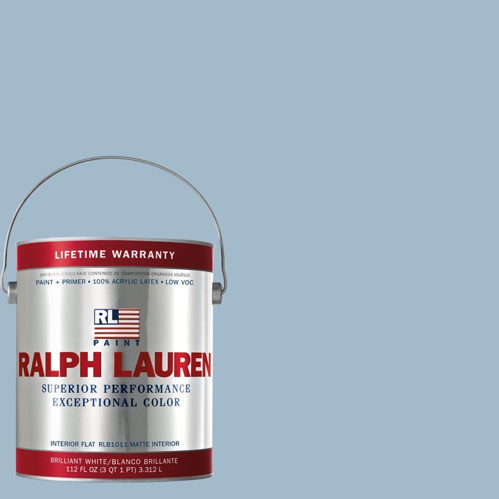 Ralph Lauren 1-gal. Bellport Blue Flat Interior Paint