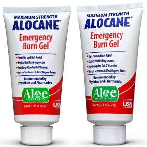 Alocane 2.5 oz. First Aid Maximum Strength Emergency Room Burn Gel (2-Pack) by Alocane