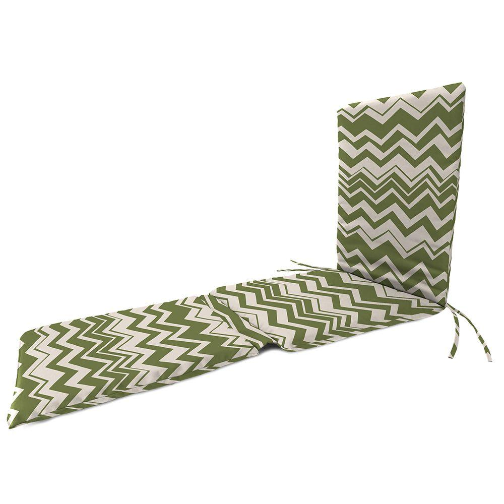 Home Decorators Collection Rizzy Cilantro Outdoor Steamer Chair Cushion