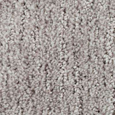 Carpet Sample - Chester - Color Opulent Grey Textured 8 in. x 8 in.