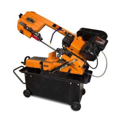 7 in. x 12 in. Metal-Cutting Band Saw with Stand