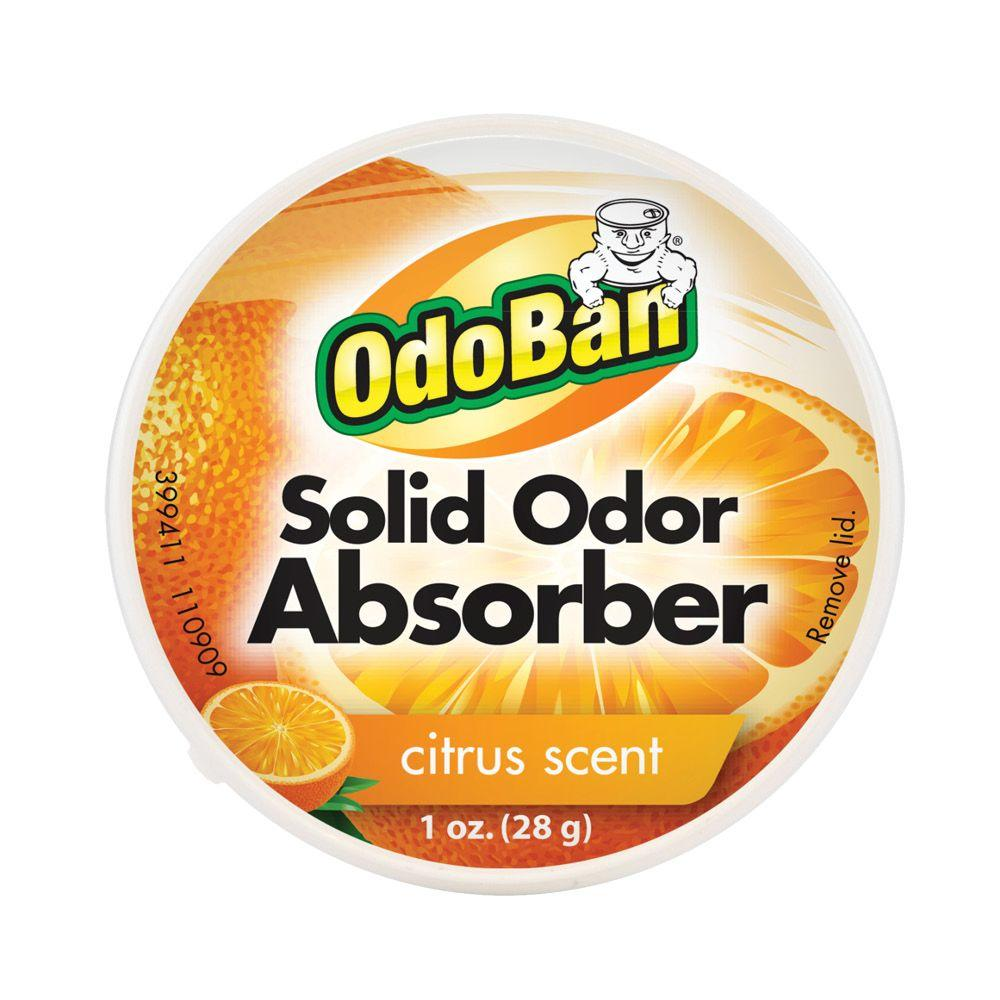 OdoBan OdoBan 1 oz. Citrus Solid Odor Absorber, Orange