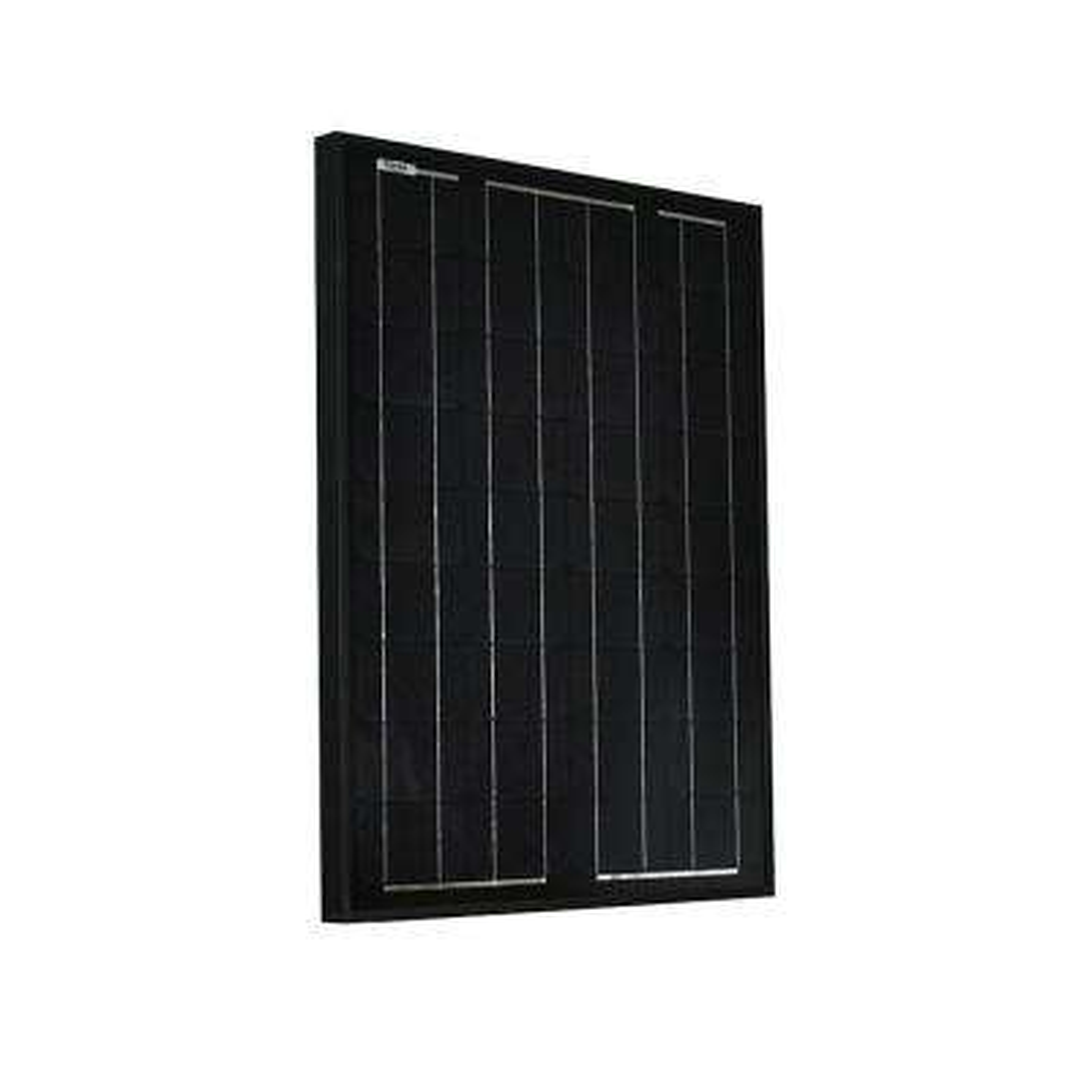 50-Watt Monocrystalline Solar Panel