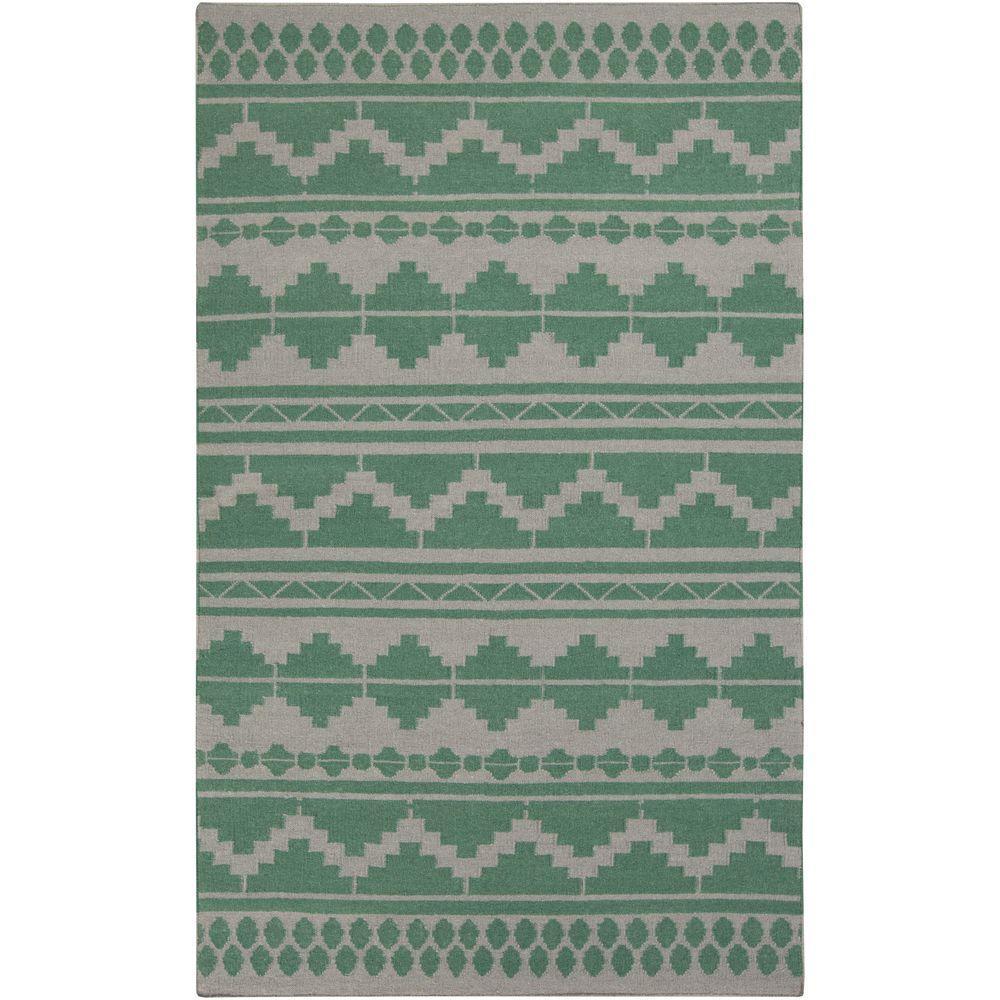 Surya Frontier Emerald/Kelly Green 5 Ft. X 8 Ft. Indoor