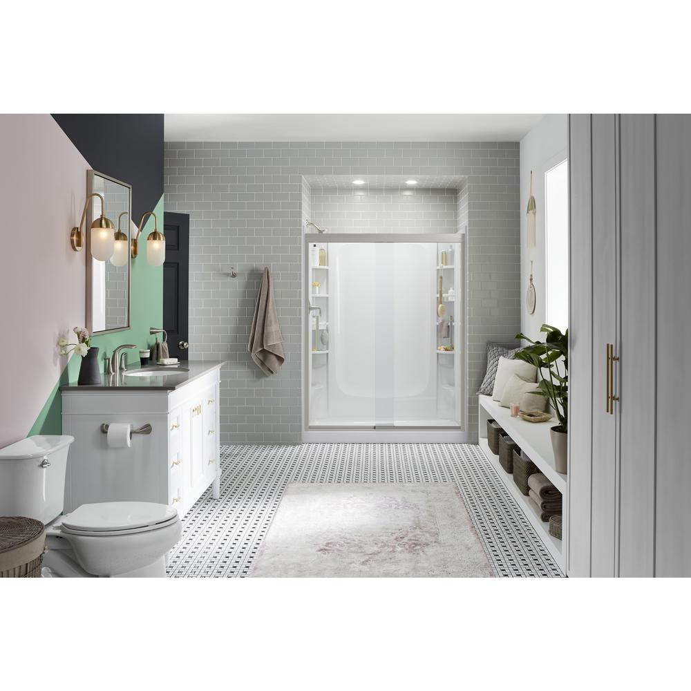 STERLING Store+ 30 In. X 60 In. Single Threshold Left Hand Shower Base