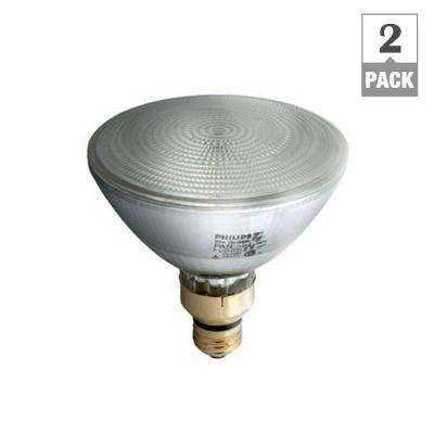 90-Watt Equivalent Halogen PAR38 Dimmable Indoor/Outdoor Flood Light Bulb (2-Pack)