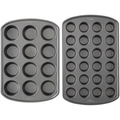 Perfect Results Premium Non-Stick 2-Piece Muffin Pan Set